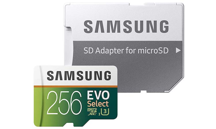 best mavic 2 pro micro sd card