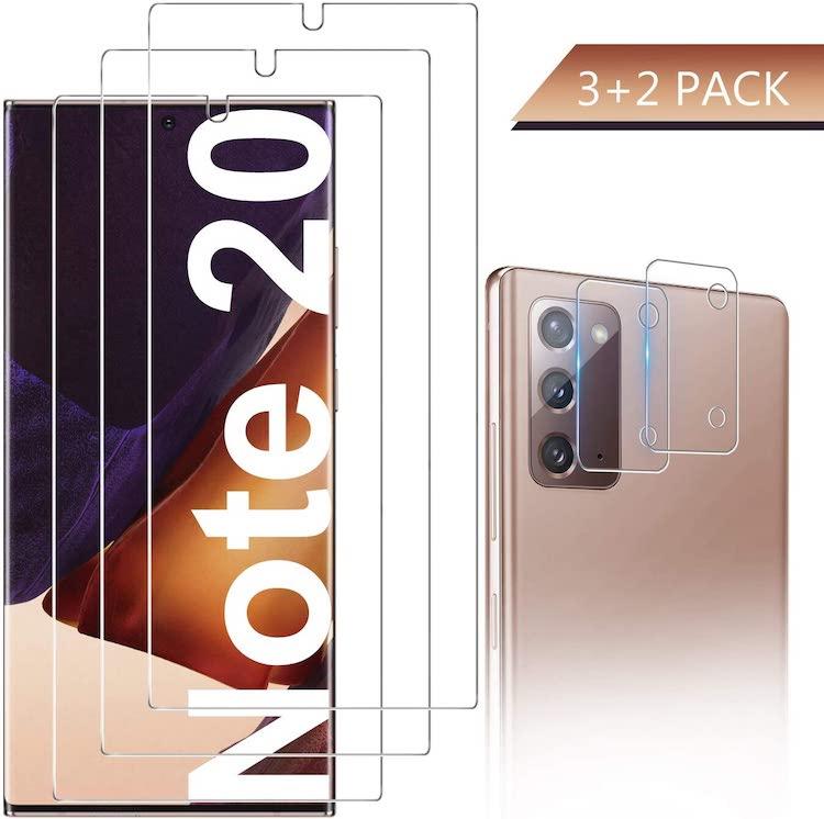 best samsung galaxy note 20 screen protectors