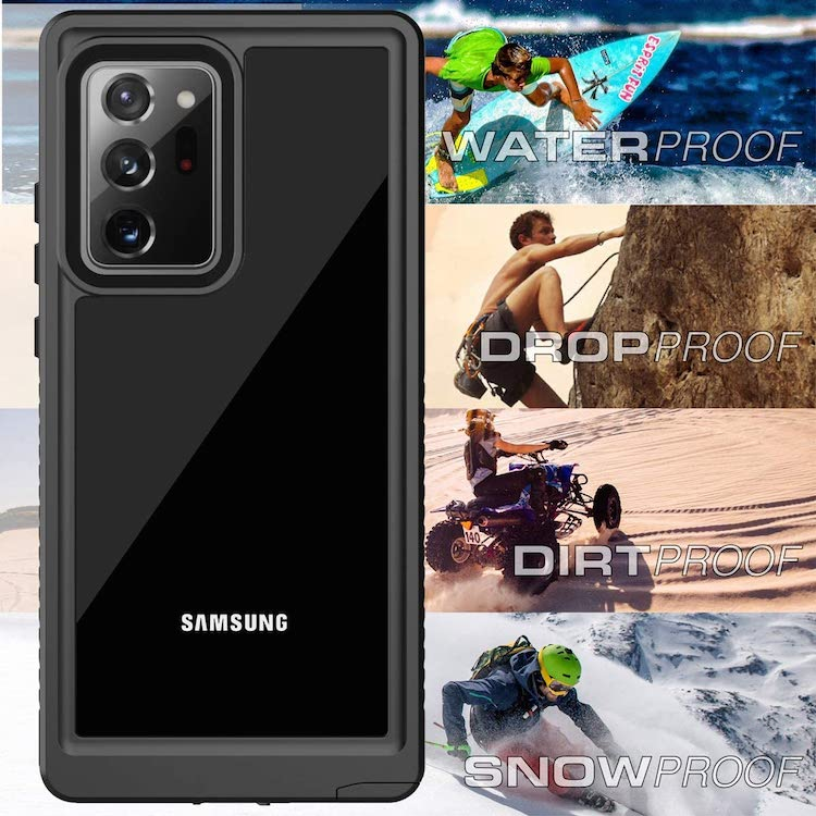 best samsung galaxy note 20 ultra waterproof cases