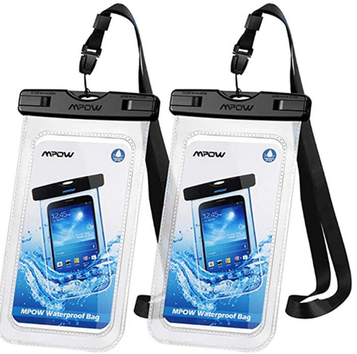 Mpow 097 Universal Waterproof Case, IPX8 Waterproof Phone Pouch